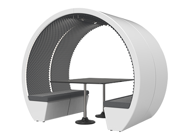 4 Person Meeting Pod Table