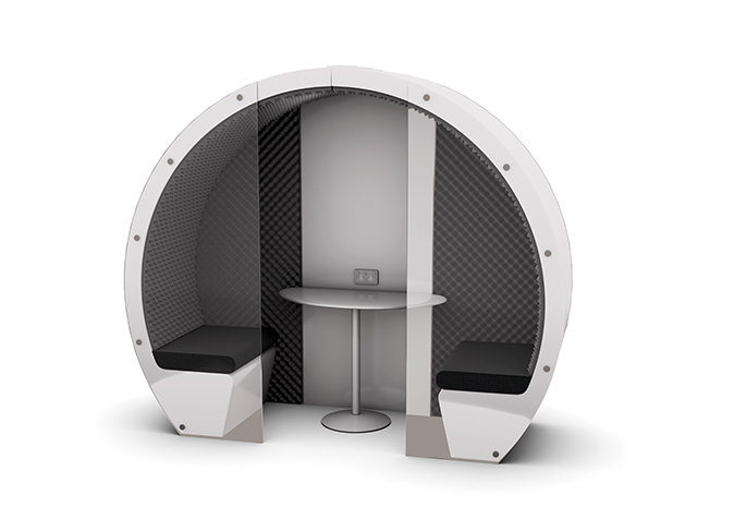 Meeting Pod Acoustic Part Glass