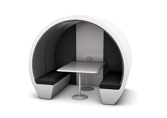 4 person meeting pod