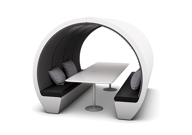 8 person meeting pod