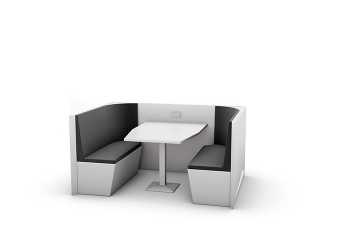 Meeting Pod White Booth