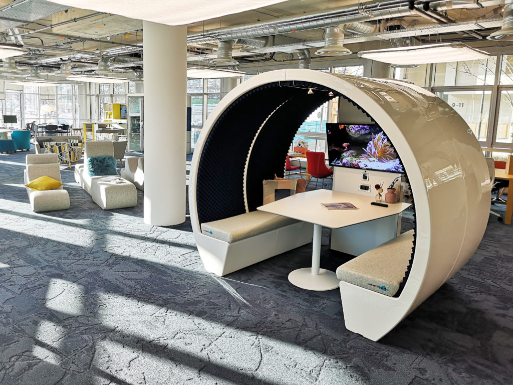 4 Person Meeting Pod- Bisley, Paris